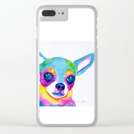Chihuahua Clear iPhone Case