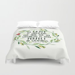 Perfect Grace Duvet Cover
