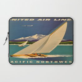 Vintage poster - Pacific Northwest Laptop Sleeve