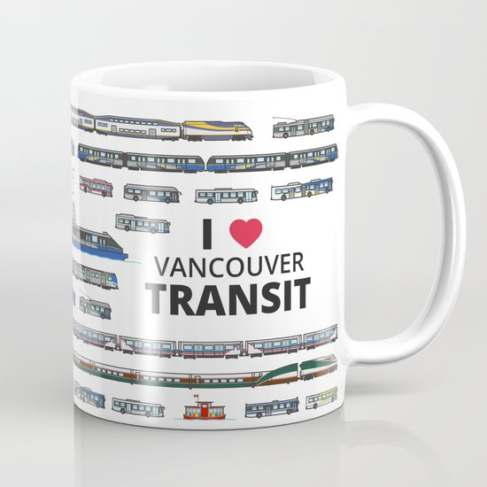 The Transit of Greater Vancouver Mug