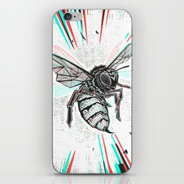 This wasp is pissed! iPhone Skin