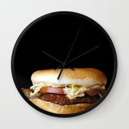 Burger 1 Wall Clock