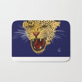 Leopard face Bath Mat