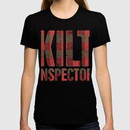 Kilt Inspector | Funny Renaissance Festival Design T-shirt