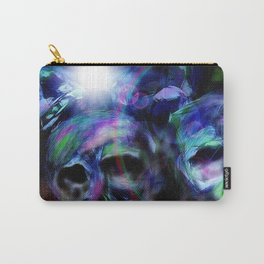 Neon skulls Carry-All Pouch