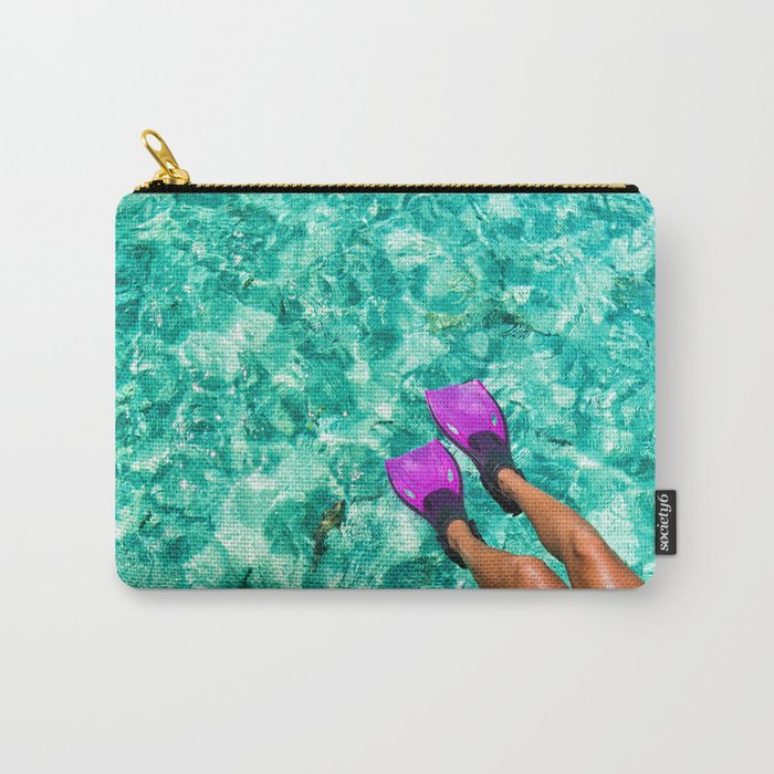 Vacation in the Maldives for the winter holidays Carry-All Pouch