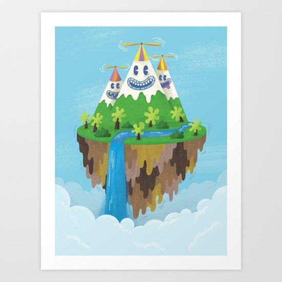 Flight of the Wild Art Print