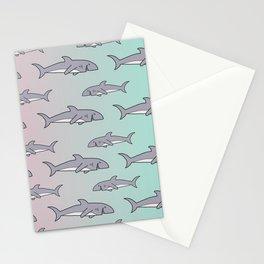 Happy Sharks Happy Summer Stationery Cards