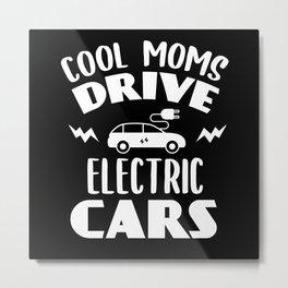 E-car Mom Metal Print