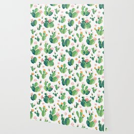 Cactus pattern II Wallpaper