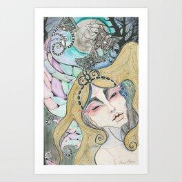 Ekho Art Print