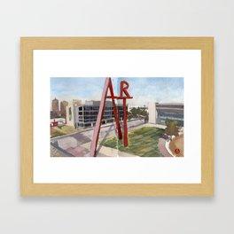 Columbus College of Art Framed Art Print