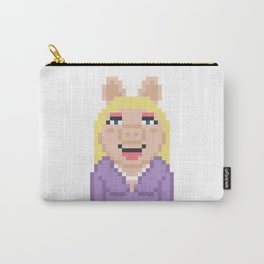 Miss Piggy The Muppets Pixel Character Carry-All Pouch