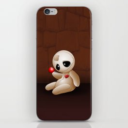 Voodoo Doll Cartoon in Love iPhone Skin