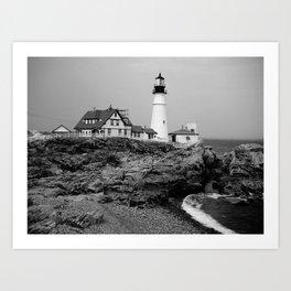 Portland Head Lighthouse Art Print