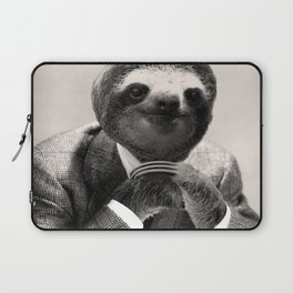Gentleman Sloth with Assorted Pose Laptop Sleeve