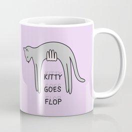 kitty goes flop Coffee Mug