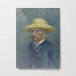 Portrait of Theo van Gogh Metal Print