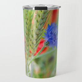 Bunch of of red poppies Travel Mug
