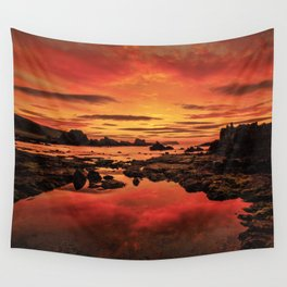 Evenings End Wall Tapestry