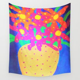 Still Life with Gold Vase Wall Tapestry