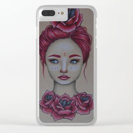 The Rose Princess Clear iPhone Case