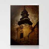 dark tower Stationery Cards featuring The tower by Digital Dreams