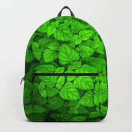 Deep Forest Leaves. Backpack