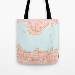 Hong Kong map Tote Bag