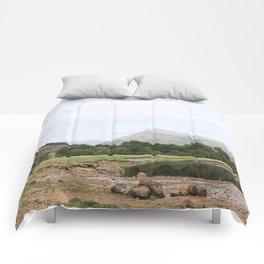 Here is realization - Glen Etive, Scotland Comforters