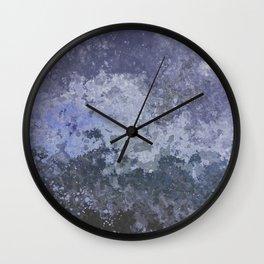 Rough Water Wall Clock