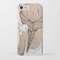 murray iPhone & iPod Cases featuring Stay Close by Kelli Murray