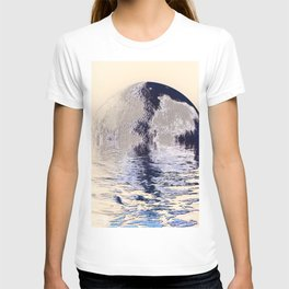 melted planet T-shirt