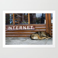 Get Connected Art Print