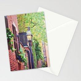 Historic Acorn Street, Beacon Hill Stationery Cards