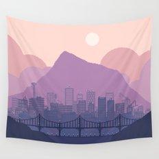 Lavender Morning Wall Tapestry