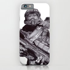 Master Chief Pen Drawing iPhone 6s Slim Case