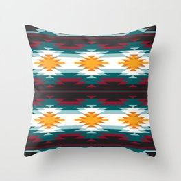 Native American Inspired Design Throw Pillow
