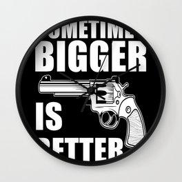Sometimes Bigger Is Better Wall Clock