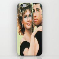 grease iPhone & iPod Skins featuring Grease  by Dora Birgis
