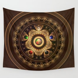 Gathering the Five Fractal Colors of Magic Wall Tapestry