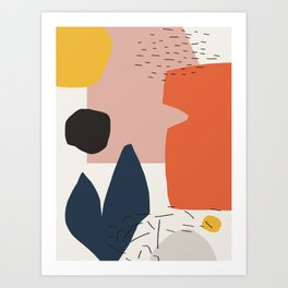Shapes #474 Art Print