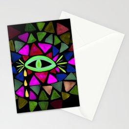 Crystaleyes 5 Stationery Cards