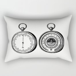 Aneroid barometer Rectangular Pillow