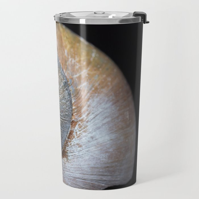 Moon snail sea shell 2863 Travel Mug