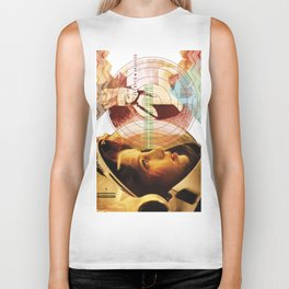 MUSICAL SEASONS. CLIPPINGS UNTITLED (series) Biker Tank