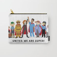 United, We Are Super! Carry-All Pouch