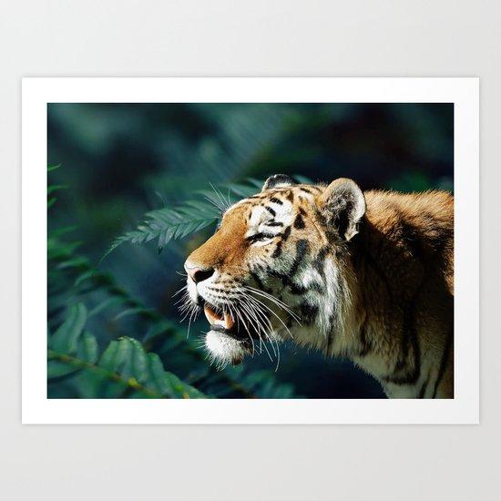 Save The Tiger #society6 #buyart #lifestyle #cause Art Print