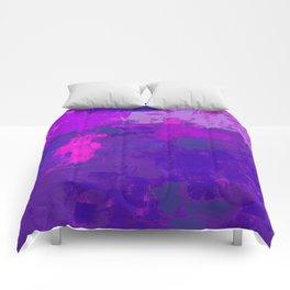 Color Splendor No.1m by Kathy Morton Stanion Comforters
