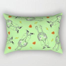 kurt grunge bunny Rectangular Pillow